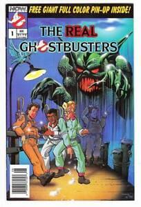 Now Comics REAL GHOSTBUSTERS #1-28 high grade comics plus one script & art proof