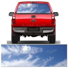 Sky Rear Window Truck Tint Metro Auto Graphics Fits Ford Chevrolet Dodge