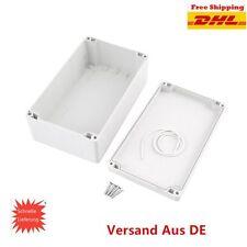 ABS Kunststoff Gehäuse Box GOatinen Verteilerkasten Elektronik Netzteil Montage