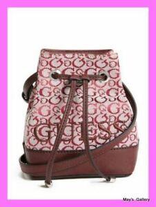 Guess Handbag Purse Crossbody Shoulder Hand Bag Wallet Backpack small Bucket