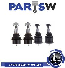4 Pc Kit Ball Joints 2 Upper 2 Lower For Chevy 4Wd Sierra 1500 Tahoe