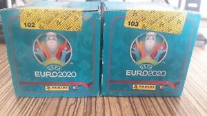2020 Panini Euro NO PREVIEW sticker 2 box sealed (100 Packs)  INVEST MBAPPE