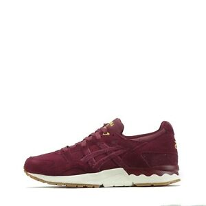 Asics Gel Lyte V Sneakerness Passport Men's Trainers Shoes in Burgundy