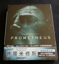 PROMETHEUS - TAIWAN 3D + 2D BLU-RAY STEELBOOK * NEW & SEALED! * ALIEN
