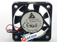 For  Delta EFB0512LA fan DC12V 0.05A~0.08A 0.6W 3pin 50*50*10MM