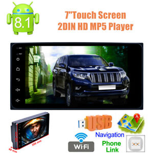 """7""""  Touch Screen 2DIN HD Car Stereo Radio MP5 Player Bluetooth AUX & Rear Camera"""