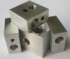 3d printer Aluminium Heat Block M6 Specialized for MK7 MK8 Makerbot Extruder