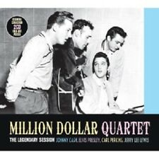 Million Dollar Quartet (Presley/Cash/Perkins/+) - The Legendary session 2 CD NUOVO