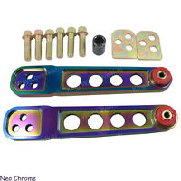 Neo Chrome Racing Lower Control Arms LCA Kit For 2002-2006 Acura RSX DC5 One Par