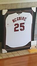 Mark McGwire Autographed, #61/583, Professionally Frame Jersey, COA/Steiner
