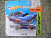 Hot Wheels 2014 #211/250 1968 DODGE DART dark blue HW WORKSHOP