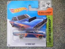 Hot Wheels 2014 # 211/250 1968 Dodge Dart Blu Scuro Hw Workshop