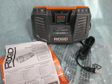 RIDGID 18 VOLT RAPID BATTERY CHARGER DUAL CHEMISTRY for power tool tool & octane