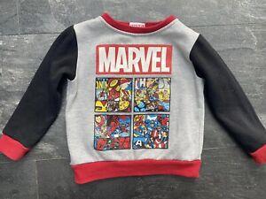 Boys Marvel Jumper 2-3yrs