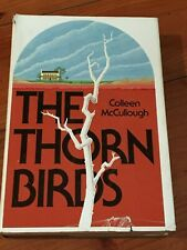 COLLEEN McCULLOUGH - THE THORN BIRDS. Autographed hard cover book