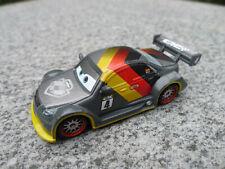 Disney Pixar Cars Carbon Fiber Max Schnell Metal Diecast Car New Loose