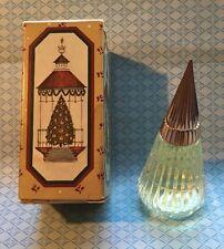 Vintage Avon Crystallique Tree Odyssey Cologne .5 Fl Oz W/Box