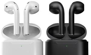 AirDots 2 für Apple iPhone inkl. Ladecase In-Ear Wireless Kopfhörer Bluetooth