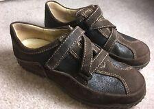 Wolky Crossfeet 1955 Size 36 Brown Black US Size 5.5 - 6