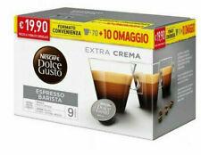 80 Capsule Caffè Gusto BARISTA Nescafè DOLCE GUSTO Originali capsule dolcegusto
