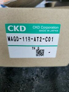 "CKD Corp. MAGD-11R-AT2-X0009 Pneumatic 2-Port Diaphragm Valve NC Air 1/8"" AGD-R"