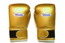 Winning Boxing Gloves(GOLD) Tape Pro Type MS 600B 16 oz Handcrafted in Japan