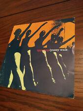 "Iggy Pop Pussy Walk US Promo 7"" 45 RPM Vinyl  1996 Pic Sleeve rare Punk Stooges"