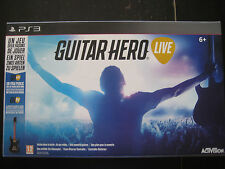 Guitar Hero Live GH GHTV Game Manette Controller - Sony PlayStation 3 PS3 PAL EU