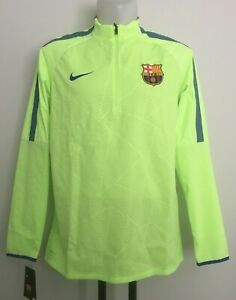 BARCELONA 1/4 ZIP L/S STRIKE TOP BY NIKE SIZE XL/BOYS BRAND NEW WITH TAGS