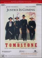 TOMBSTONE (Kurt RUSSELL Val KILMER Sam ELLIOTT) Western ACTION Film DVD NEW Reg4