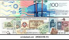 FINLAND - 1985 CENTENARY OF FINNISH BANK-NOTE PRINTING - STAMBOOKLET