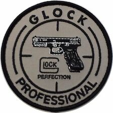 GLOCK Professional Tactical, Military, Airsoft, Paintball Pistol Patch 8,9 cm