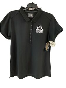 Kentucky Derby Women's Polo Shirt Small Black 145 Knit Churchill Downs NWT