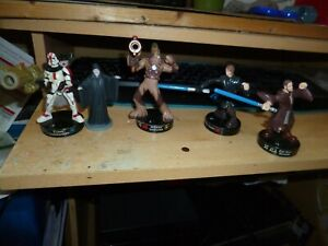 Star Wars 5 figures, firing swing action