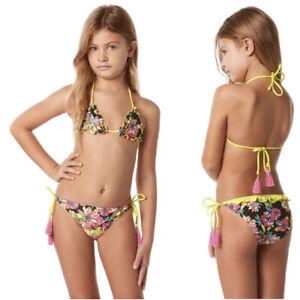 Costume da Bagno Bikini Bambina 4GIVENESS FGG00100 Multicolor Misura 6/8 Anni