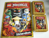Lego Ninjago Legacy Sticker - Sammelalbum + 50 Tüten - Neu & OVP