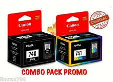 GENUINE CANON PIXMA PG740 & CL741 INK CARTRIDGE FOR MG2170/MG3170/MG4170/MX377