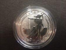 2018 Royal Mint 1oz British Britannia Oriental Border £2 Two Pound Silver coin
