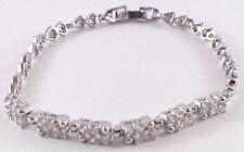 CZ Crystal stimulated Dimond 925 Sliver plated Bracelet