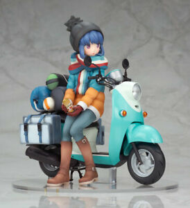 New Alter Yuru Camp Rin Shima with Scooter 1/10 PVC From Japan