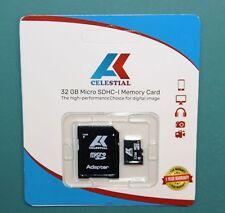 Especial Para Cámaras tablero tablero con tarjeta de memoria 32 GB Micro SD de alta velocidad-SD + Adaptador
