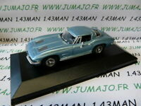 VOITURE 1/43 DEL PRADO : CHEVROLET Corvette boîte vitrine