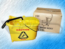 Sunnycare Mop Bucket / Wringer Bucket - Wheels Included - Shop Supplies