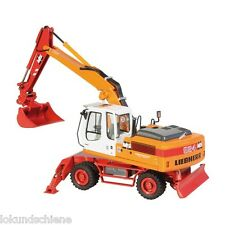 """LIEBHERR A 924C litronic """"schlechtriem"""" Excavadoras móviles NZG 780/08 1:50"""