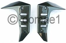carbon fiber radiator covers fairings protectors Kawasaki Z750 2004-2006