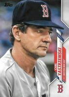 CARL YASTRZEMSKI 2020 Topps Series 2 (SP) LEGENDS VARIATION Card# 378  RED SOX