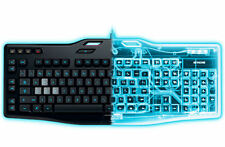 Logitech G105 Wired Gaming Keyboard Backlit Keys Anti Ghosting & Macro