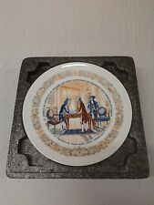 Lafayette Legacy Collection 1973 Collector Plate No 1 w/ COA