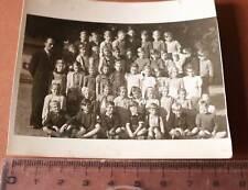 tolles altes Foto Schulklasse  gemischt - 1948