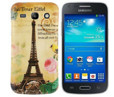 TPU Case Samsung Galaxy Advance G350E Schutzhülle Tasche Cover Eiffelturm Paris